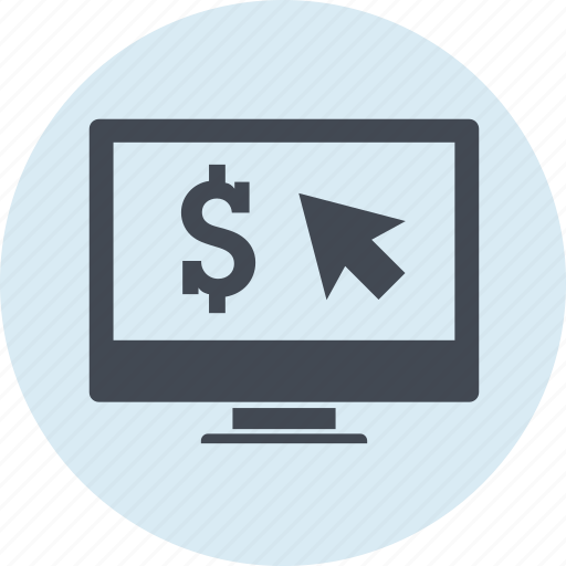 Business, click, earning, internet, money, pay, per icon - Download on Iconfinder