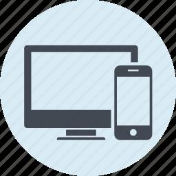 design, development, devices, line, responsive, seo, web icon