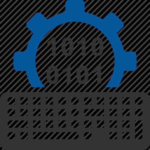 code, coding, input, programming icon