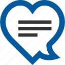 chat, favorite, love, romantic