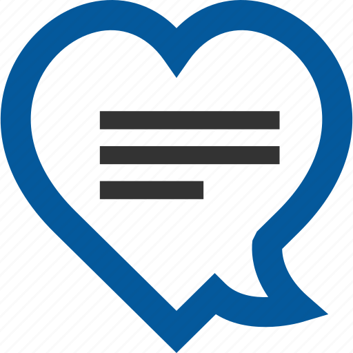 chat, favorite, love, romantic icon