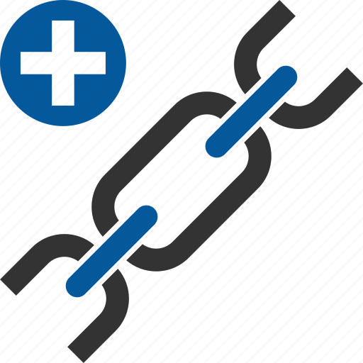 building, link, linking, seo icon
