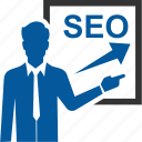 performance, seo, training icon