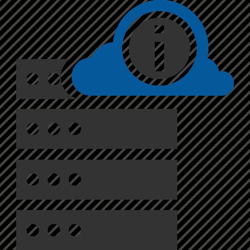 Information, server, database, host, hosting icon - Download on Iconfinder
