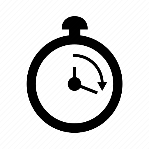 efficient, fast, immediate, quick, response, stopwatch icon