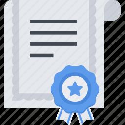 achievement, certificate, prize, victory icon