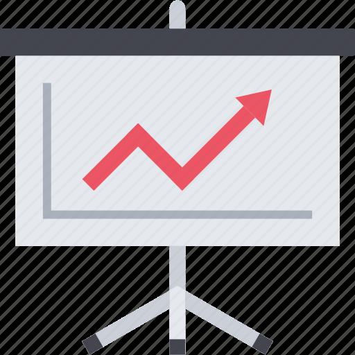 graph, presentation, seo, training icon