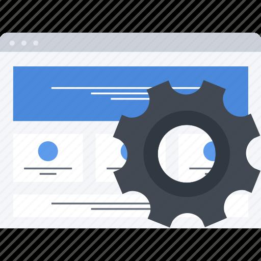 optimization, seo, settings, site icon