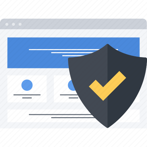 security, seo, site, web icon