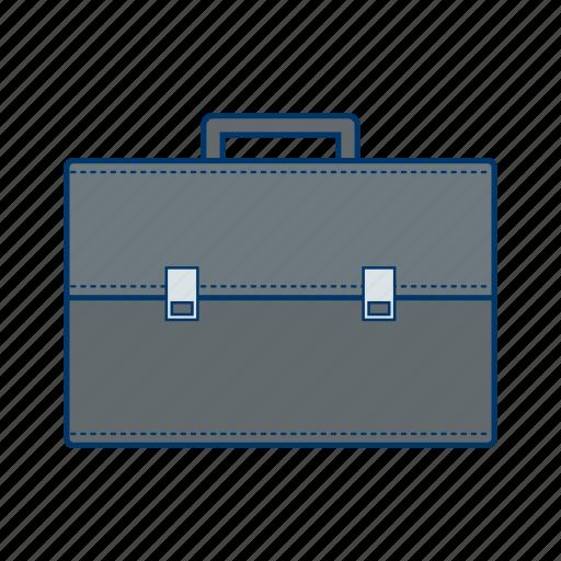 attache case, breifcase, portfolio icon
