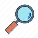 find, keyword, search icon