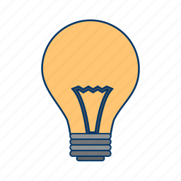 bulb, concept, idea, light icon