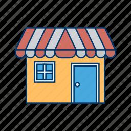 cafe, market, shop, store icon