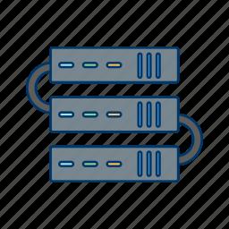 backup, data, network, server, servers, storage, web icon
