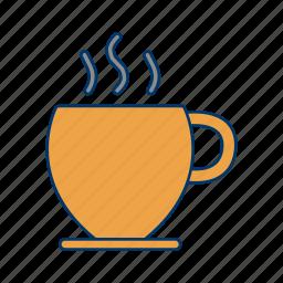 break, breakfast, cappuccino, coffee, hot, tea icon