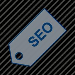 engine, optimization, search, seo, tag, web icon