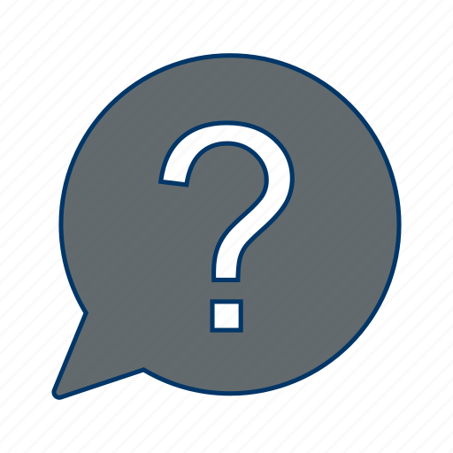 ask, help, question mark icon