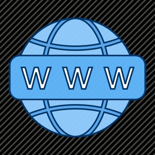 web, website, www icon