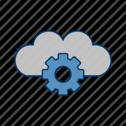 cloud, cloud settings, setting icon