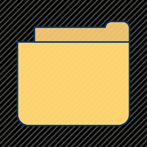 document, file, folder icon