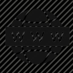 globe, site, web, www icon