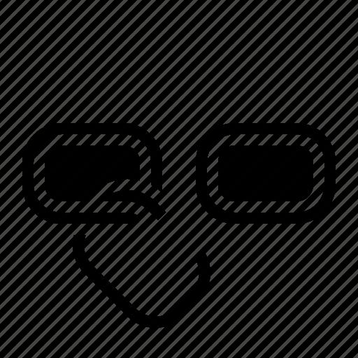 broken, hyperlink, link icon