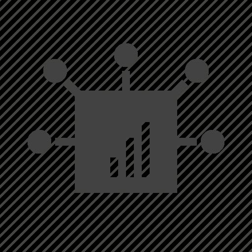 business, community, gear, marketing, media, network, social icon