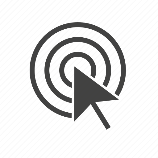 app, arrow, click, mouse, online, payment, stamp icon