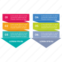infographic, seo, seo pack, seo services, steps icon