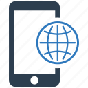 communication, connection, global, international, mobile, network, phone icon