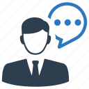 business, communication, consulting, customer, service, support, talk icon
