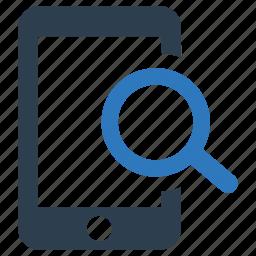 find, locate, mobile, phone, search, seo icon