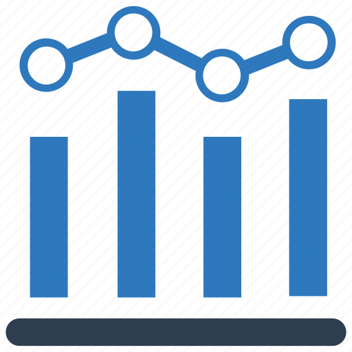 analysis, bar, chart, finance, graph, report, statistics icon