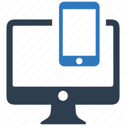 application, devices, interface, layout, mobile, responsive design icon