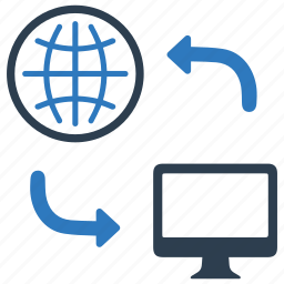 connection, distribution, internet, network, online, share, sharing icon