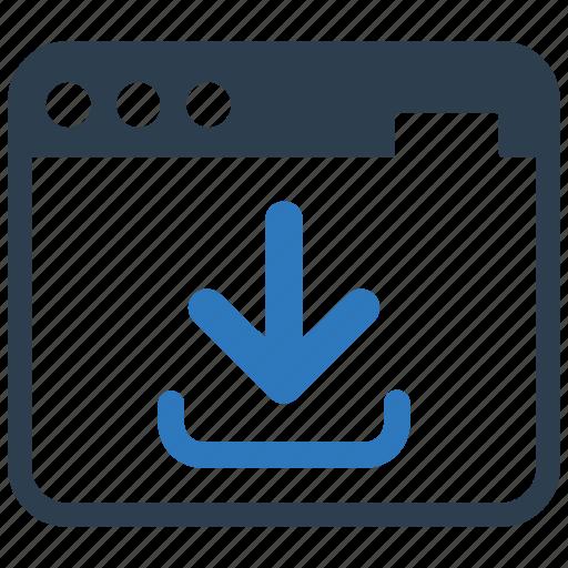 download, internet, landing page, laptop, optimization, webpage, website icon