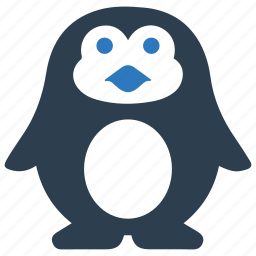 animal, arctic, bird, penguin, snow, winter, xmas icon