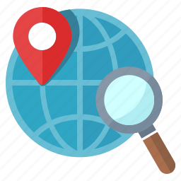 connection, earth, global, location, map, navigation, optimization, pin, search engine, searching, seo icon