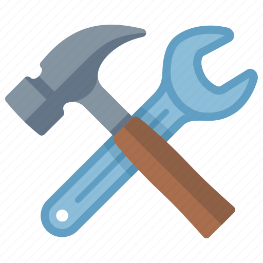 configuration, hammer, preferences, settings, tools, wrench icon