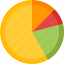 analysis, analytics, business data, pie chart, statistics icon