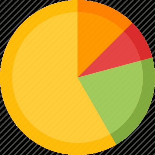 analysis, analytics, business data, pie chart, statistics icon