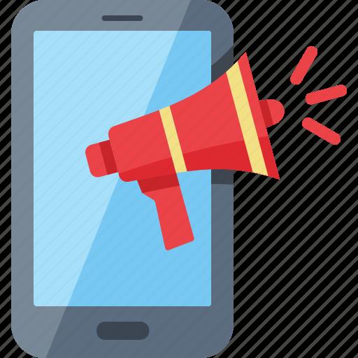 advertising, bullhorn, communication, internet marketing icon