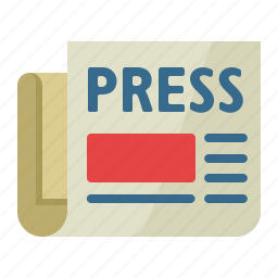 article, communication, newspaper, press release icon