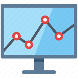 business analysis, finance, graph, monitoring, seo analytics icon