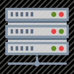 hosting, network, storage, web server icon