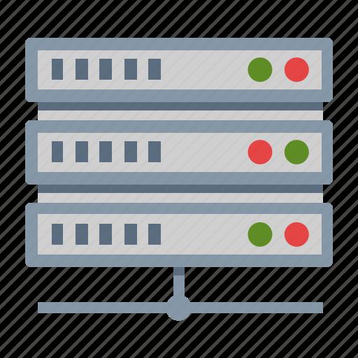 hosting, storage, web server icon