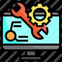 web, development, code, coding, ui, gear