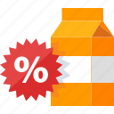 advertising, discount, marketing, sale, sticker icon