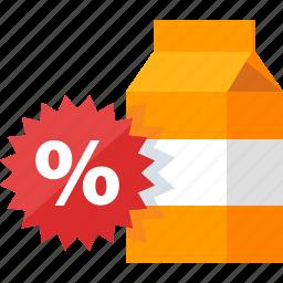 advertising, discount, marketing, sale, sticker icon