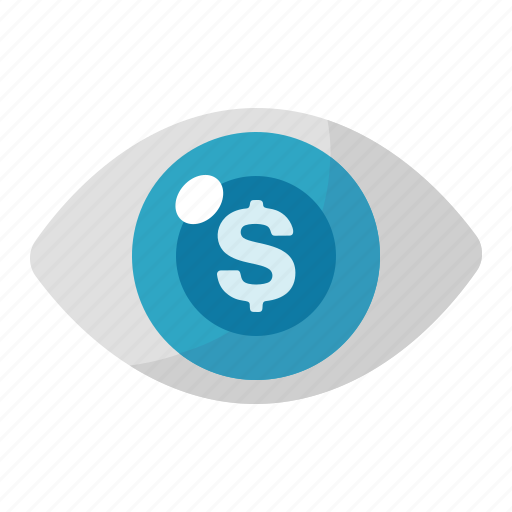 advertising, business, cost per impression, eye, internet marketing, marketing, seo icon